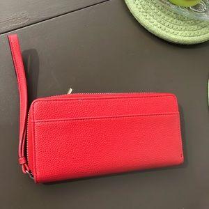 Dana Buchman Bags - Dana Buchman Red Wallet